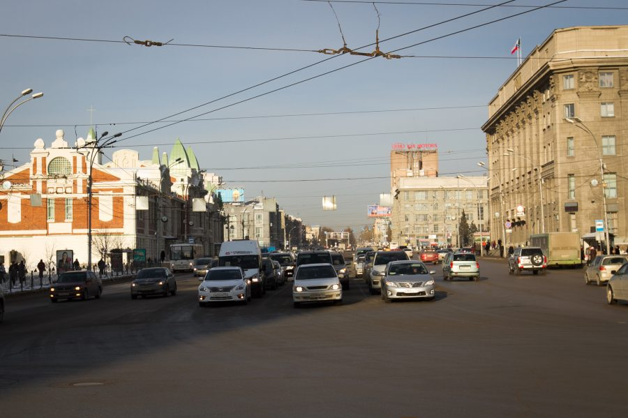 Деньги науборку дорог вНовосибирске расходовали нерационально