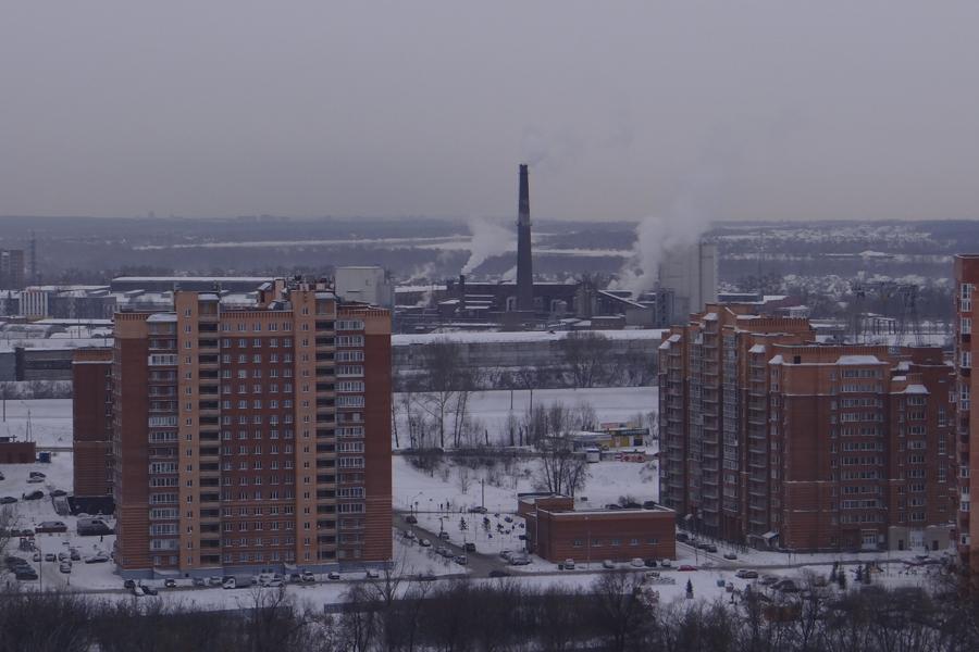 Котельная измазала сажей новосибирский микрорайон «Весенний»
