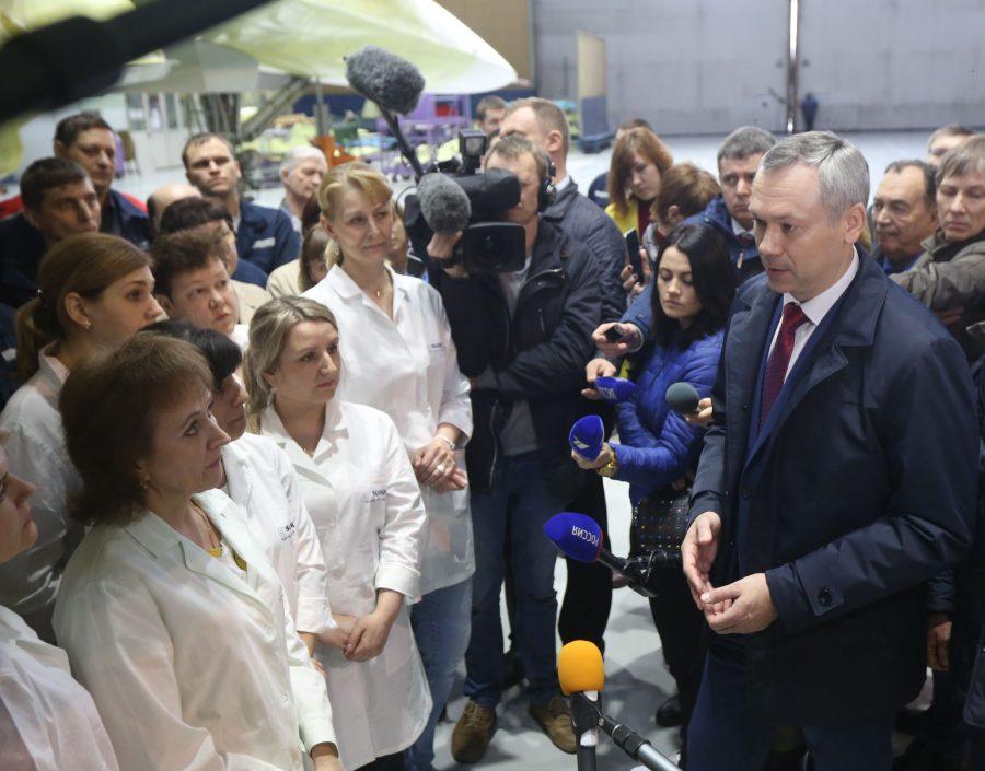 Травников пойдет навыборы губернатора Новосибирской области
