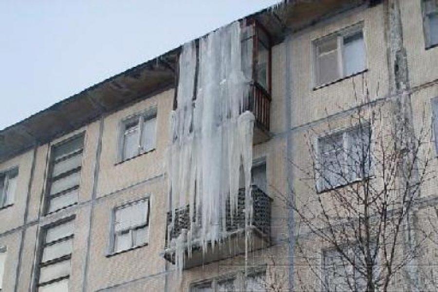 Новосибирцев будут штрафовать за снег на балконах infopro54..