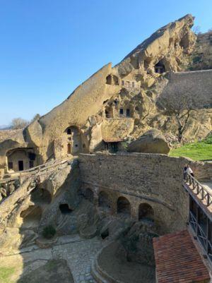 Монастырь Давида Гареджи на границе Грузии и Азербайджана