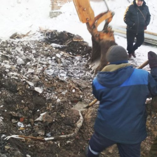 Безответственные строители вновь обесточили посёлок Мошково
