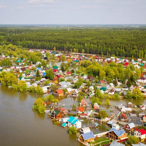 В Новосибирской области ожидается неблагоприятное развитие паводковой обстановки