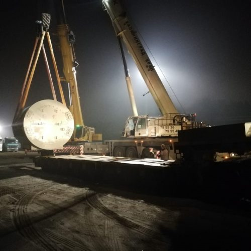Новосибирский филиал АО «РЖД Логистика» перевез крупногабаритное оборудование