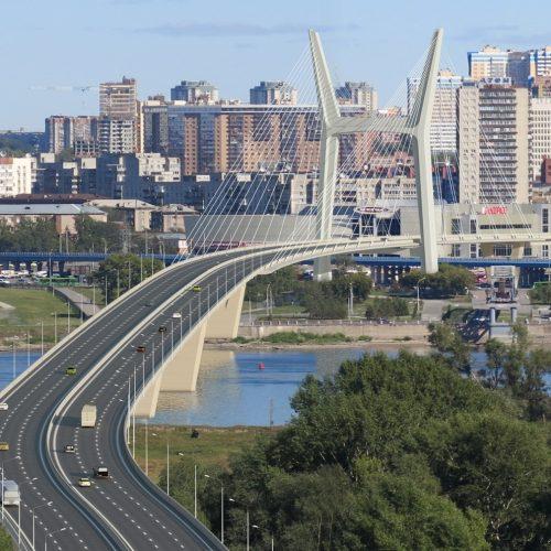 Строительство четвертого моста в Новосибирске началось