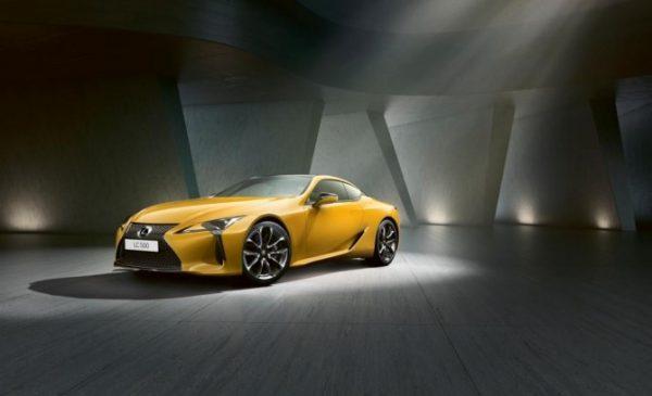Купе Lexus LC Yellow Edition начали продавать в автосалонах Новосибирска
