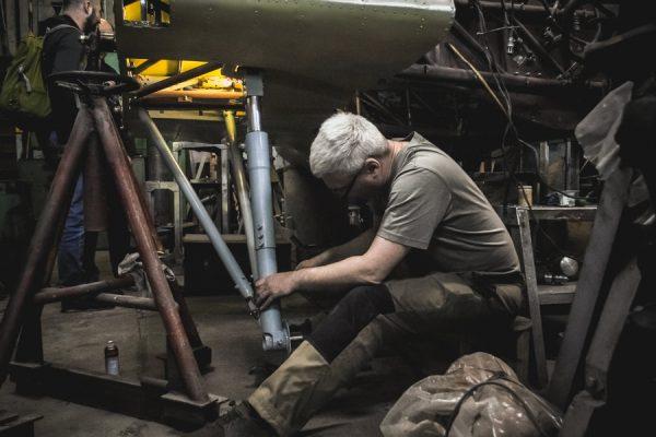 Сотрудники НГТУ-НЭТИ восстанавливают сбитый истребитель И-16