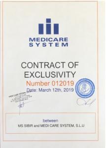 Сибирская компания подписала эксклюзивный контракт с Medicare System S.L.U