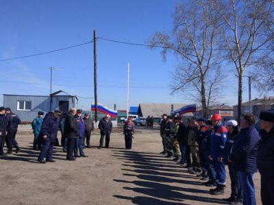 В Колыванском районе прошли очередные командно-штабные учения с участием подразделений АО «РЭС»