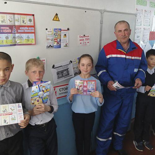 Специалисты АО «РЭС» на треть увеличили количество уроков электробезопасности в школах Новосибирской области