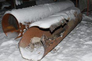 Почти половина повреждений на теплосетях СГК пришлась на Новосибирск