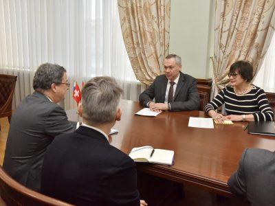 В Новосибирской области работает делегация Швейцарии