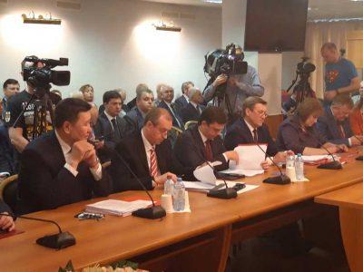 Анатолий Локоть отчитался перед президиумом ЦК КПРФ