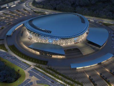 Минстрой региона получил разрешение на строительство Ледовой арены