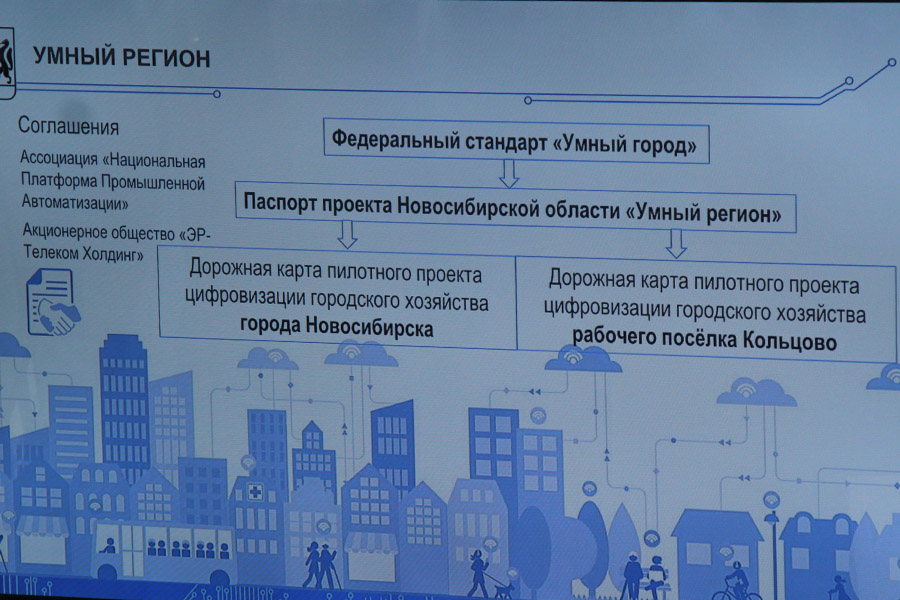 «Умный город» протестируют на Кольцово