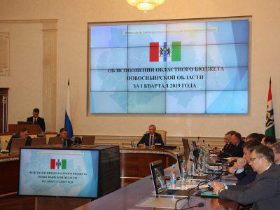 В бюджет области в первом квартале поступило почти 34 млрд рублей