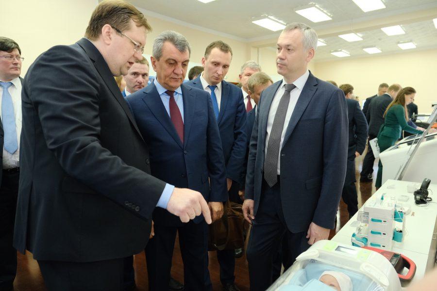 На территории клиники Мешалкина появится диагностический центр Ростеха