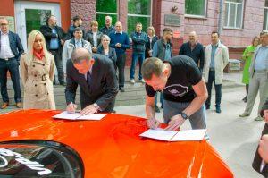 В НГТУ НЭТИ разработают энергоустановку для электромобиля по концепции спорткара Marussia