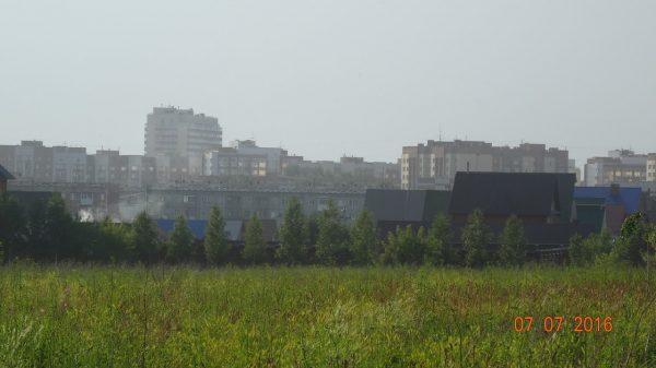 Бердчане протестуют против многоэтажек вместо парка