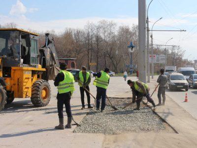 АО «РЭС» завершает восстановление благоустройства после проведения ремонтных работ