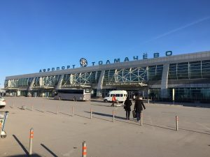 Количество трансферных пассажиров в Толмачёво выросло на 46%