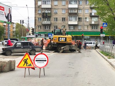 За неделю в Новосибирске устранили 55 дефектов на теплосетях
