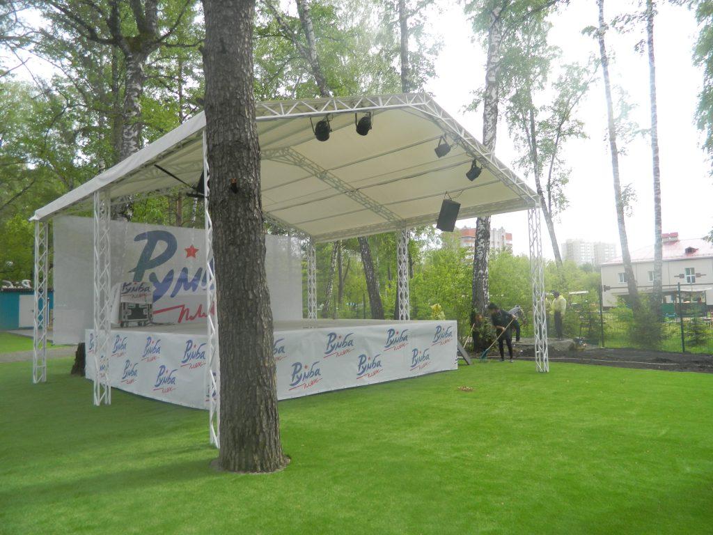 В парке «Сосновый бор» открылся комплекс бассейнов