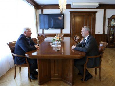 Новосибирский и томский губернаторы договорились о сотрудничестве
