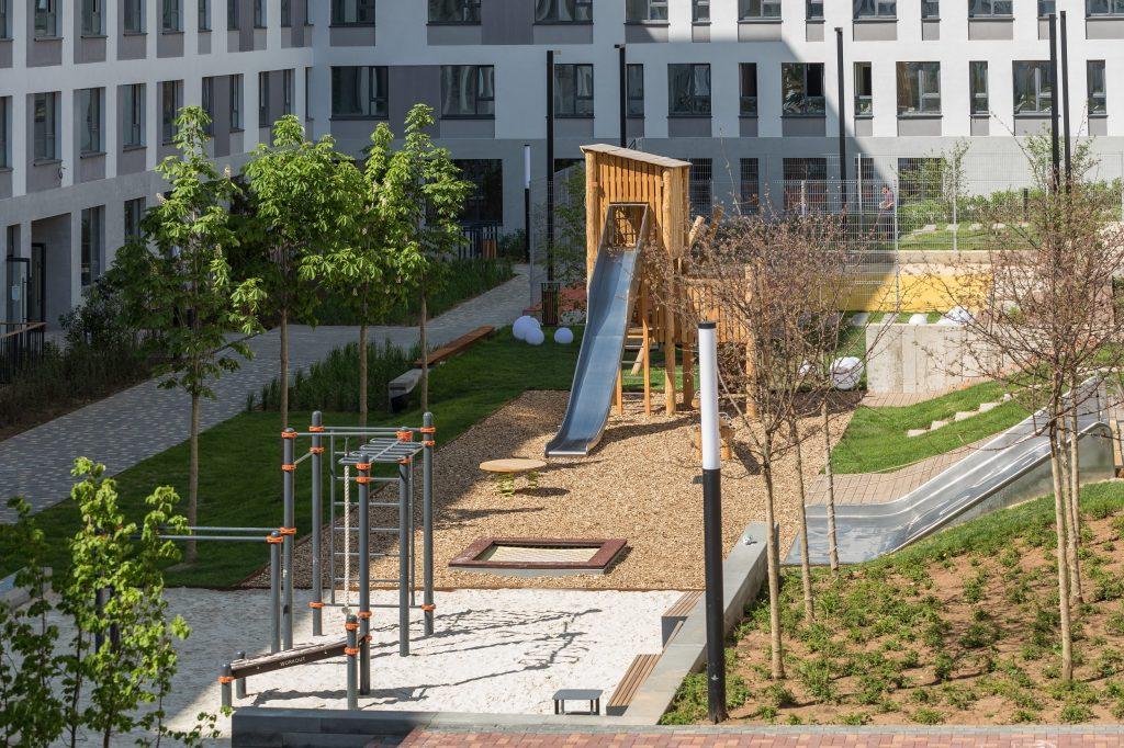 Формула детской площадки, где хочется играть
