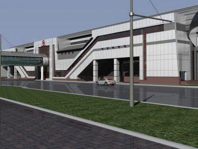 Работы на станции «Спортивная» начнутся в первом полугодии