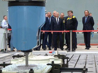 Владимир Путин высоко оценил качество станков Группы компаний «Стан»