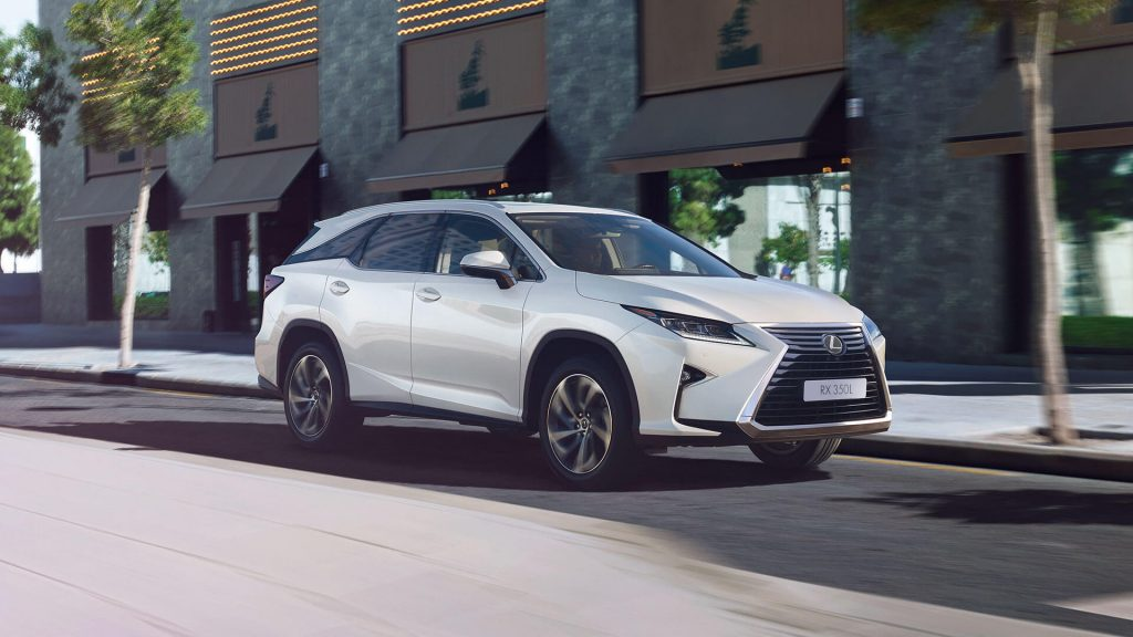 Lexus RX, Hyundai Creta и KIA Rio лидируют в региональном рейтинге