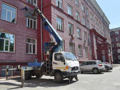 НГТУ НЭТИ отремонтирует к МЧМ по хоккею фасады первого корпуса и общежитий