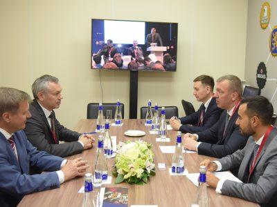 Новосибирская область и AB InBev Efes настраиваются на долгосрочное партнерство