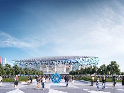 Работы по строительству Ледовой арены начнутся в течение месяца