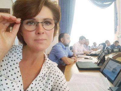 Наталья Пинус официально объявила о своем участии в выборах мэра