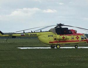 В Новосибирскую область прибыл вертолет санавиации в рамках нацпроекта