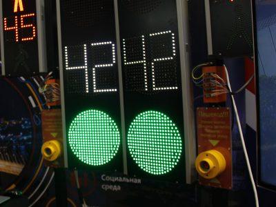 На гостевых маршрутах в Новосибирске будут установлены умные светофоры