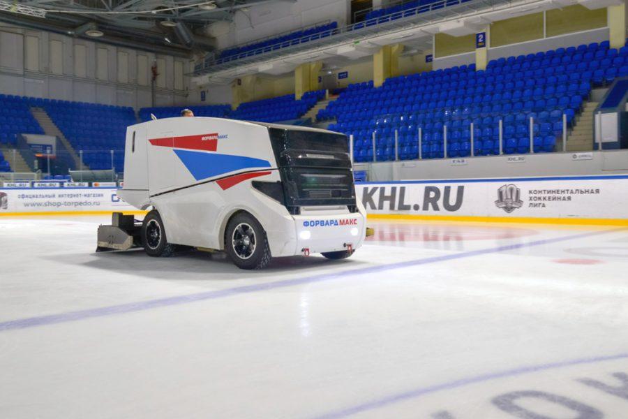 «Лиотех» и «Форвард» разработают ледовый комбайн на электротяге