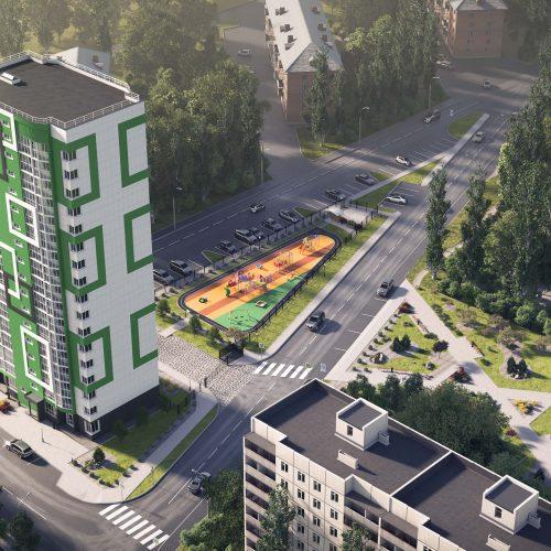 В Дзержинском районе Новосибирска появится новый сквер
