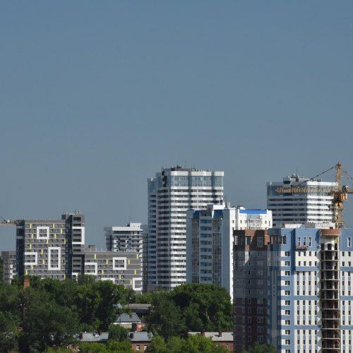 За первое полугодие в регионе сдано 654 тыс. квадратных метров жилья