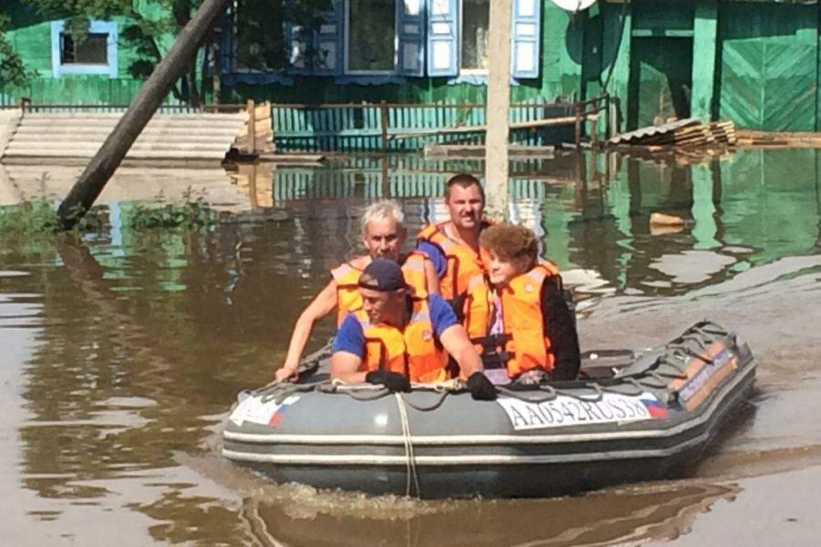 Новосибирск готов принять пострадавших от наводнения иркутян