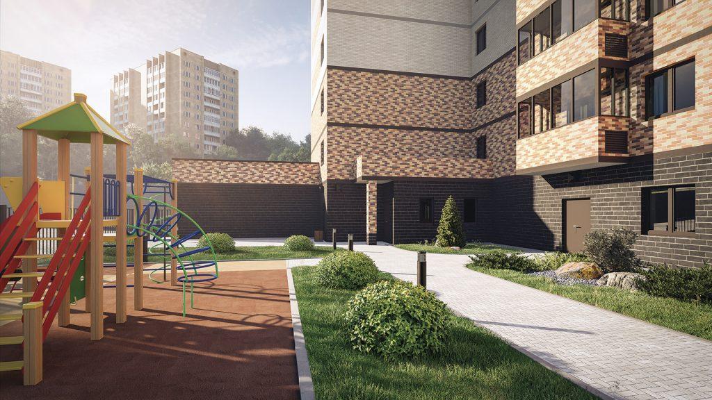 В Новосибирске возводится дом клубного семейного формата