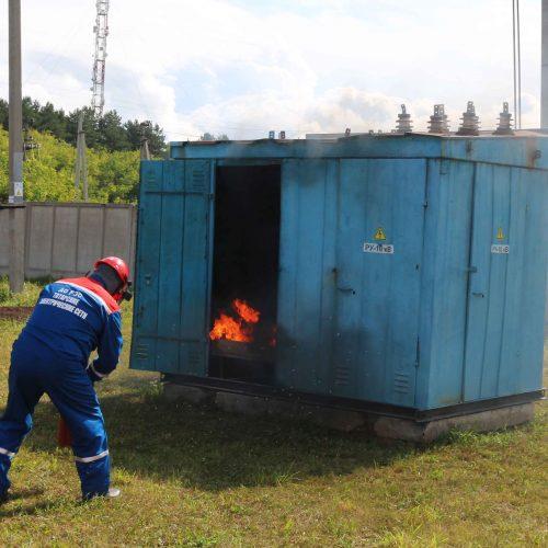 В АО «РЭС» прошли соревнования электромонтёров по эксплуатации распределительных сетей