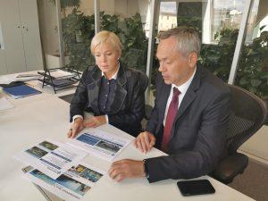 На реализацию инфраструктурных проектов моногорода Линево в 2020 году требуется около 500 млн рублей