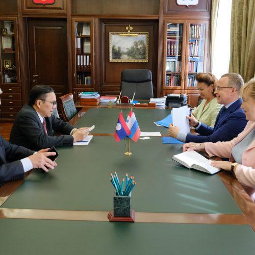 Новосибирская область будет плотнее работать с Южной Кореей и Лаосом