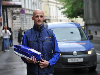 Новосибирцы «распробовали» курьерскую службу Почты России