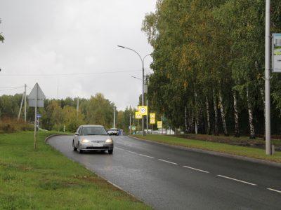 Дорогу из Кольцово в Академгородок отремонтировали в рамках нацпроекта