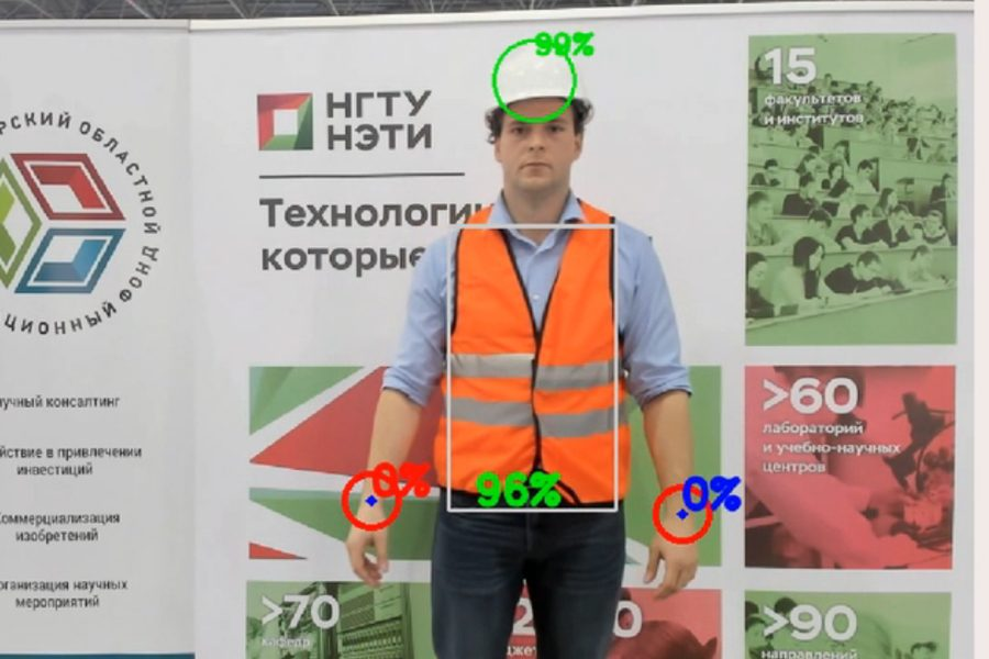 Инженеры НГТУ НЭТИ научили искусственный интеллект анализировать видео для охраны труда