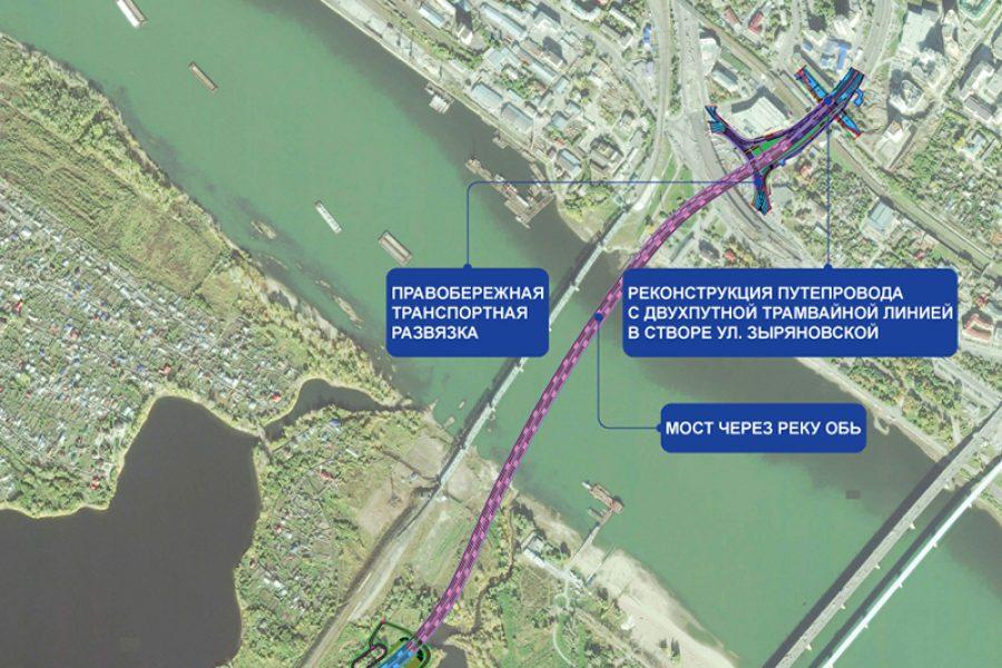 Реконструкцию путепровода для четвертого моста начнут до конца 2019 года